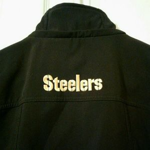 STEELERS NFL Team Apparel Women's Coat Size S